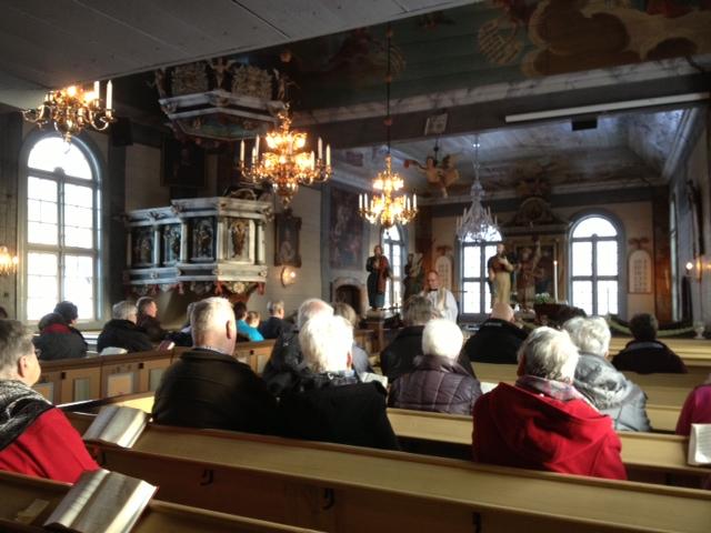 advent i Mossebo kyrka